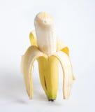 Abgezogene Banane Lizenzfreie Stockbilder