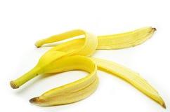 Abgezogene Bananenhaut Lizenzfreie Stockfotografie