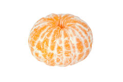 Abgezogene Mandarine stockfotografie