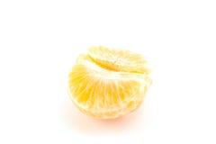 Abgezogene Tangerine- oder Mandarinenfrucht Lizenzfreies Stockbild