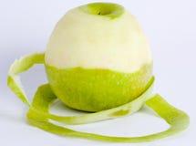 Abgezogener Apple Stockfoto