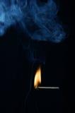 Abgleichung mit Feuer Stockfotografie