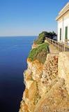 Abgrund bei Cap de Formentor, Majorca Stockbilder