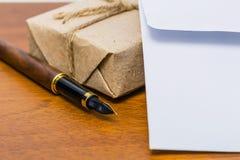 Abhängig von Postadresse lizenzfreies stockbild