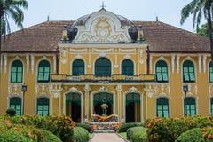 Abhaiphubej Hospital in Prachin Buri, Thailand. Abhaiphubej old hospital in Prachin Buri, Thailand Royalty Free Stock Photography