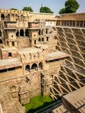 abhaneri india rajasthan do chand do baori Fotografia de Stock Royalty Free