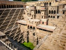abhaneri india rajasthan do chand do baori Foto de Stock