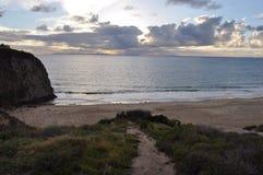 Abhang im Laguna Beach Stockbild
