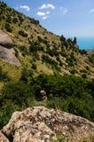 Abhang, Krim, Ukraine Lizenzfreie Stockfotos
