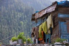 Abhang-Wohnung Stockfoto