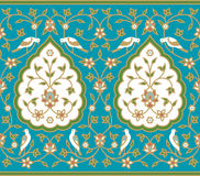 Abhar Seamless Border. Traditional Arabic Design Seamless Pattern Royalty Free Stock Images