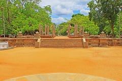 Abhayagiri Dagoba, arv för Sri Lanka UNESCOvärld Fotografering för Bildbyråer