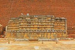 Abhayagiri Dagoba, arv för Sri Lanka UNESCOvärld Royaltyfria Foton