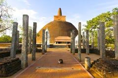 Abhayagiri Dagoba #3, Sri Lanka Royaltyfri Foto
