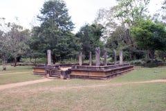 Abhayagiri Raja Maha Viharaya Royaltyfri Foto