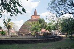 Abhayagiri vihara 2 Royaltyfri Bild