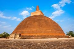 Abhayagiri Vihara w Anuradhapura Fotografia Stock