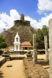 Abhayagiriya Dagoba, Anuradhapura, Sri Lanka Royalty Free Stock Photography