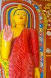 Abhayamudra da Buda Foto de Stock