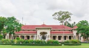 Abhisek Dusit biskopsstol Hall Arkivbild