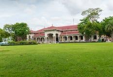 Abhisek Dusit biskopsstol Hall Royaltyfri Fotografi