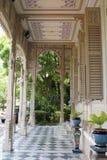 Abhisek Dusit biskopsstol Hall, Dusit slott i Bangkok, Thailand, Asien Arkivbild