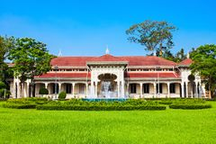Abhisek Dusit Throne Hall. Or the Thai Handicraft Museum is a museum within Dusit Palace in Bangkok, Thailand Royalty Free Stock Photo