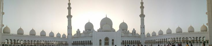 Abhu Dhabi fotografie stock libere da diritti