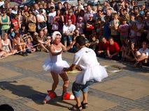 Abi Collins, Lublin, Poland Fotos de Stock Royalty Free