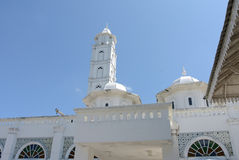 Abidin Mosque i Kuala Terengganu, Malaysia Royaltyfri Fotografi