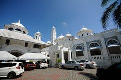 Abidin Mosque i Kuala Terengganu, Malaysia Arkivfoton