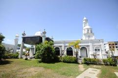 Abidin Mosque i Kuala Terengganu, Malaysia Arkivbilder