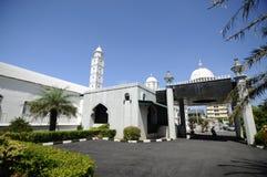 Abidin Mosque i Kuala Terengganu, Malaysia Arkivbild