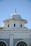 Abidin Mosque i Kuala Terengganu, Malaysia Arkivfoto