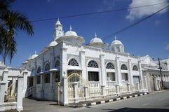 Abidin Mosque i Kuala Terengganu, Malaysia Royaltyfri Bild