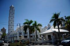 Abidin Mosque i Kuala Terengganu, Malaysia Royaltyfria Foton
