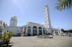 Abidin Mosque i Kuala Terengganu, Malaysia Royaltyfria Bilder