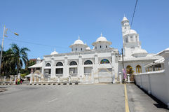 Abidin Mosque in Kuala Terengganu, Malaysia Lizenzfreie Stockfotografie