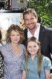 Abigail Breslin, Gerard Butler, Jodie Foster Stock Image