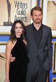 Abigail Spencer & Josh Pence Stock Image