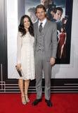 Abigail Spencer och Josh Pence Royaltyfri Fotografi
