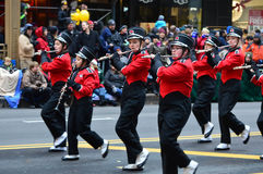 Abilene High School Band in Thanksgiving Parade Stock Images