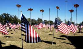 Abilene, TX EUA - 9 de novembro de 2014: A cidade de Abilene Texas operou o centro do visitante, patriótico foto de stock royalty free