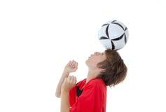 Abilità di gioco del calcio di calcio Fotografia Stock Libera da Diritti