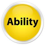 Ability premium yellow round button Stock Photos