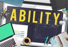 Ability Strength Potential Skills Concept.  Stock Photos