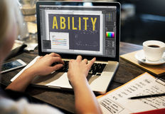 Ability Strength Potential Skills Concept.  Royalty Free Stock Photos