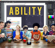 Ability Strength Potential Skills Concept Royalty Free Stock Photos