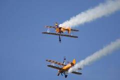 Abingdon-Flugplatz airshow Stockbild