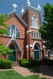 Abingdon United-methodistische Kirche - Abingdon, Virginia Stockbild